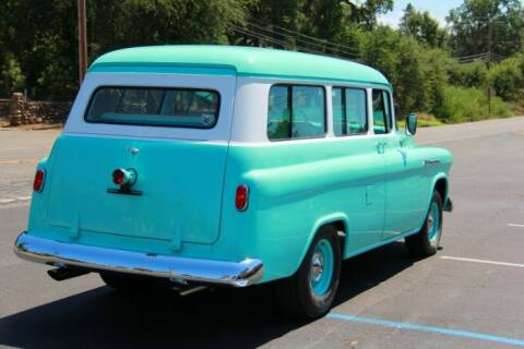 1956 Chevrolet Suburban for sale at Classic Car Deals in Cadillac MI