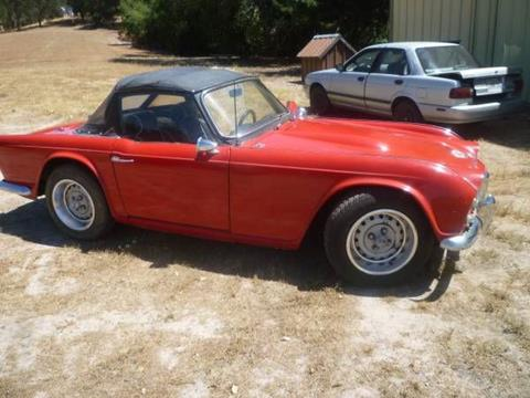 1963 Triumph TR4 for sale in Cadillac, MI