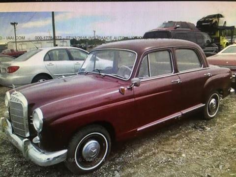1961 mercedes benz 190 class for sale carsforsale 1961 mercedes benz 190 class for sale in cadillac mi sciox Images