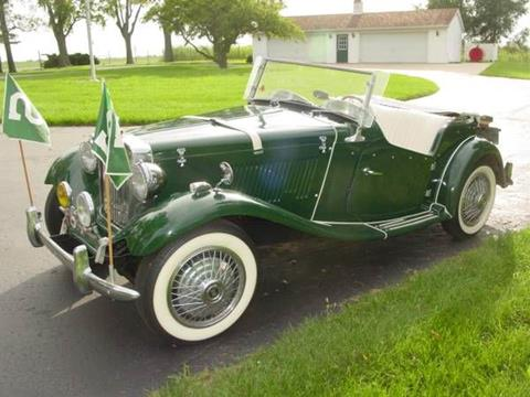 1954 MG TD for sale in Cadillac, MI