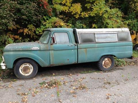 1964 Ford F-250 for sale in Cadillac, MI
