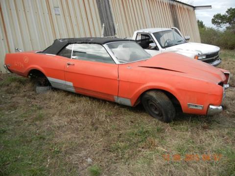 1969 Mercury Montego for sale in Cadillac, MI