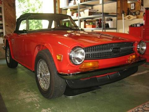 1973 Triumph TR6 for sale in Cadillac, MI