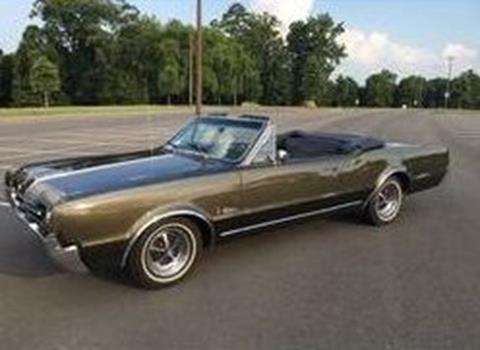 1967 Oldsmobile Cutlass for sale in Cadillac, MI