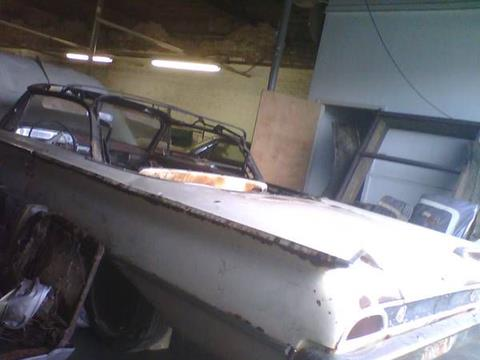1960 Ford Sunliner for sale in Cadillac, MI