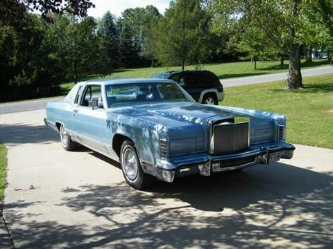 1979 Lincoln Continental for sale in Cadillac, MI