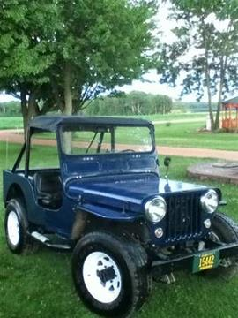 1947 Willys Jeep for sale in Cadillac, MI