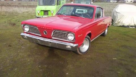 1966 Plymouth Barracuda for sale in Cadillac, MI