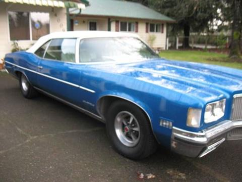 1972 Pontiac Grand Ville for sale in Cadillac, MI