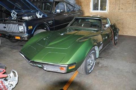 1972 Chevrolet Corvette for sale in Cadillac, MI
