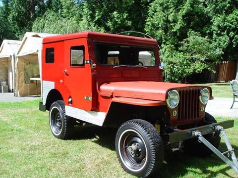 1950 Willys CJ-3A for sale in Cadillac, MI