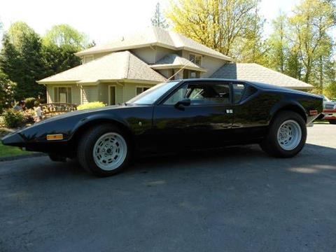 Ford Pantera For Sale >> 1973 De Tomaso Pantera For Sale In Cadillac Mi