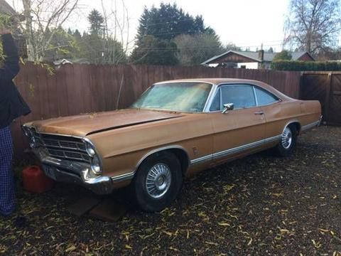 1967 Ford Galaxie for sale in Cadillac, MI