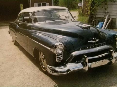 1950 Oldsmobile Ninety-Eight for sale in Cadillac, MI