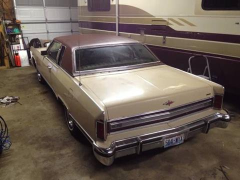 1978 Lincoln Town Car For Sale Carsforsale Com