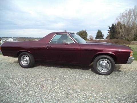 1971 Chevrolet El Camino For Sale  Carsforsalecom