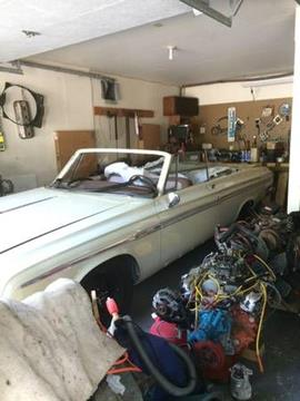 1964 Plymouth Sport Fury for sale in Cadillac, MI