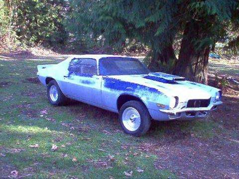 Used 1970 Chevrolet Camaro For Sale In Michigan