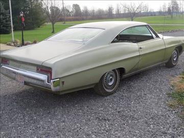 1968 Pontiac Catalina for sale in Cadillac, MI