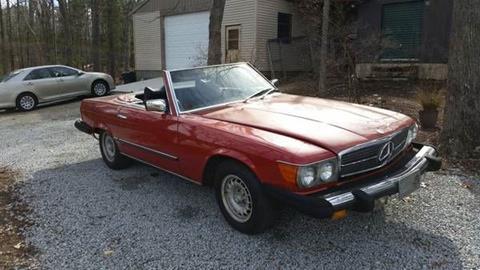 1979 Mercedes-Benz 450 SL for sale in Cadillac, MI