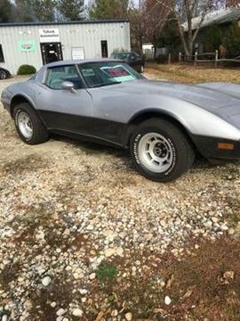 1978 Chevrolet Corvette for sale in Cadillac, MI
