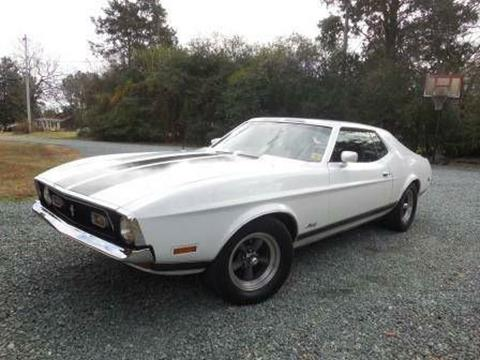 1972 Ford Mustang for sale in Cadillac, MI