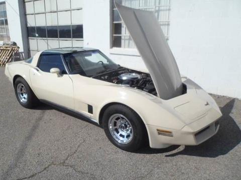 1981 Chevrolet Corvette for sale in Cadillac, MI