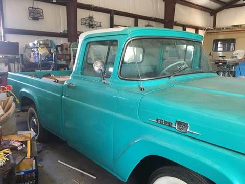 1959 Ford F-250 for sale in Cadillac, MI