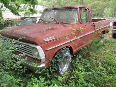 1967 Ford F-150 for sale in Cadillac, MI