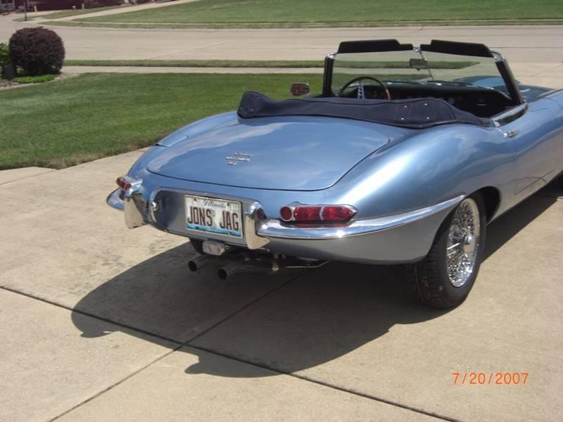 1968 Jaguar E-Type Series I: 1968 Jaguar E-Type Series I 0 Blue Convertible I6 4.2L Manual