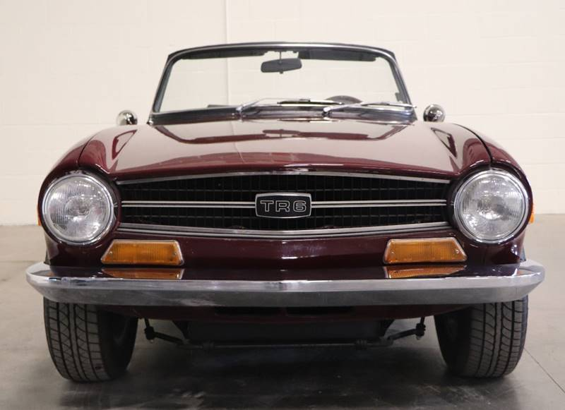 1972 Triumph Tr6 With Overdrive In Saint Louis Mo Its Alive