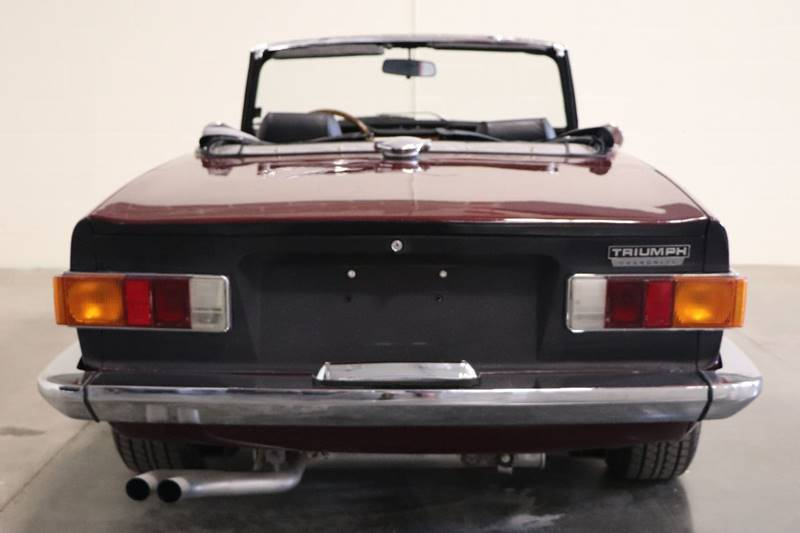 1972 Triumph Tr6 With Overdrive In Saint Louis MO - It's