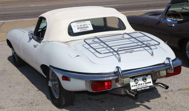 1969 Jaguar E-Type --: 1969 Jaguar E-Type  0 White Convertible I6 4.2L Manual