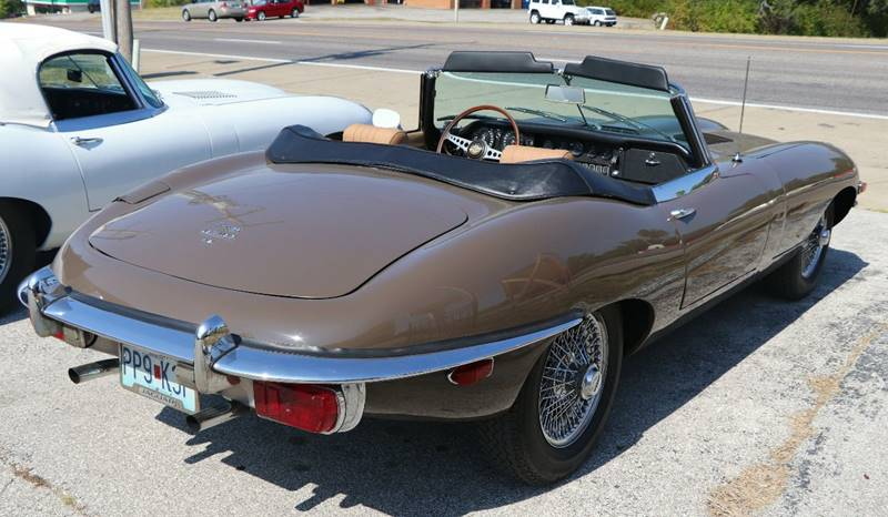 1969 Jaguar E-Type --: 1969 Jaguar E-Type  0 Sable Convertible I6 4.2L Manual