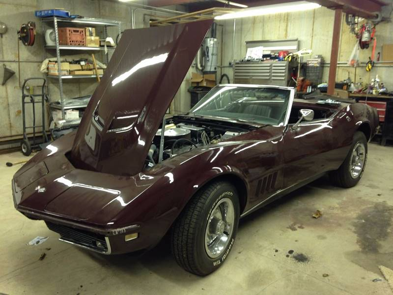 1968 chevrolet corvette convertible big block with manual 4 speed rh itsaliveauto com Ford 3 Speed Shifter 3 Speed Column Shift Pattern