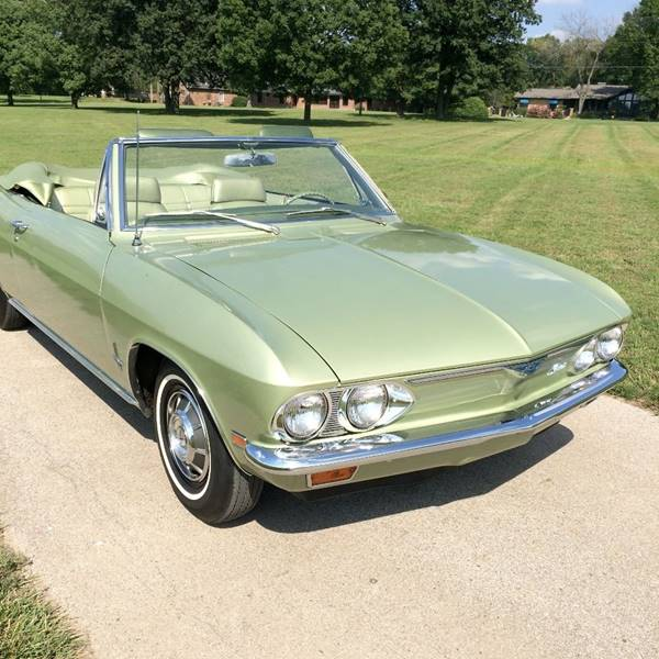 1969 Chevrolet Corvair for sale at Its Alive Automotive in Saint Louis MO