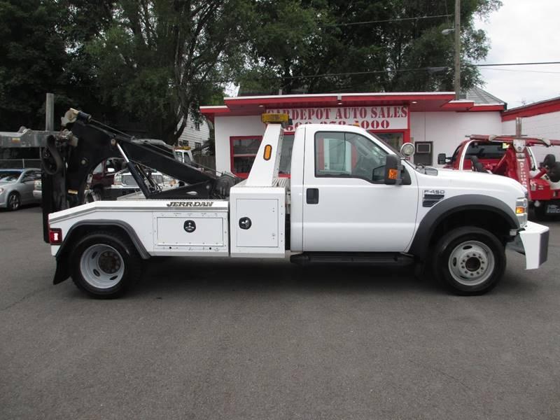Ford F  Tow Truck Trent Nj