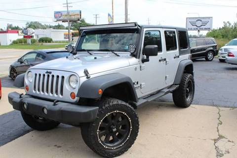 2007 Jeep Wrangler Unlimited for sale in Roselle, IL