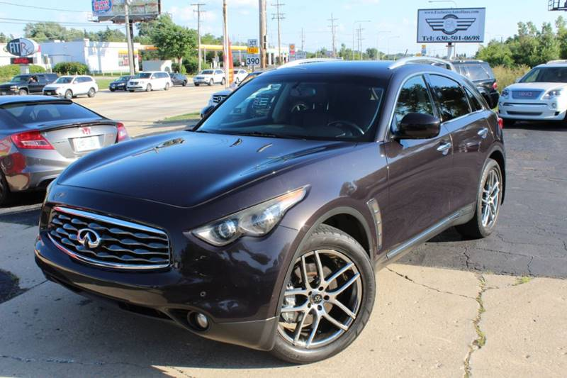 2009 Infiniti Fx50 Awd 4dr Suv In Roselle Il Exclusive Autohaus