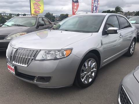 2011 Lincoln MKZ Hybrid for sale in Spring Valley, CA