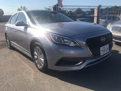 2016 Hyundai Sonata Hybrid for sale in Spring Valley, CA
