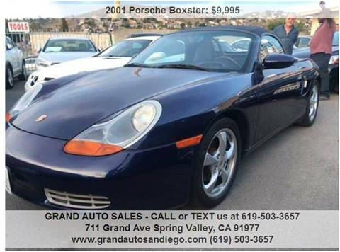 2001 Porsche Boxster for sale at GRAND AUTO SALES - CALL or TEXT us at 619-503-3657 in Spring Valley CA
