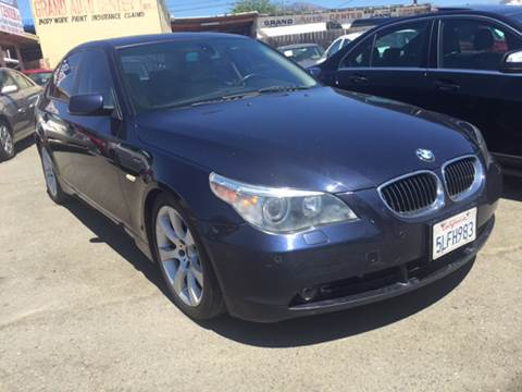 2005 BMW 5 Series for sale at GRAND AUTO SALES - CALL or TEXT us at 619-503-3657 in Spring Valley CA