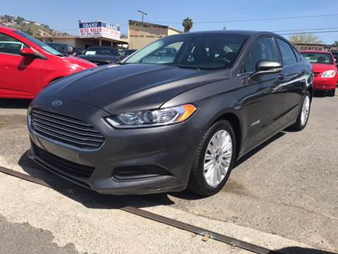 2016 Ford Fusion Hybrid for sale in Spring Valley, CA