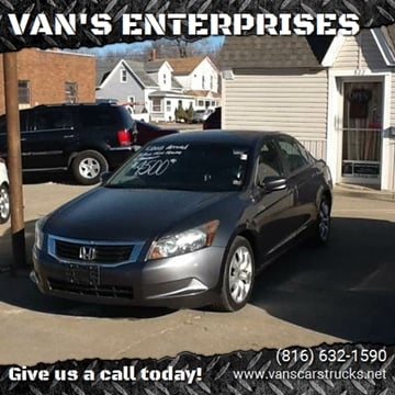 2008 Honda Accord for sale in Cameron, MO