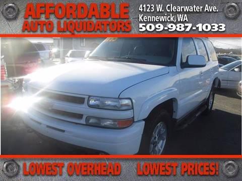 2005 Chevrolet Tahoe for sale in Kennewick, WA