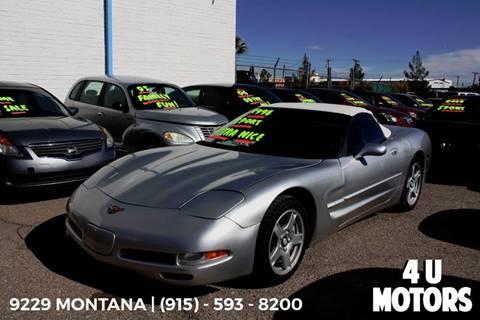 1998 Chevrolet Corvette for sale in El Paso, TX
