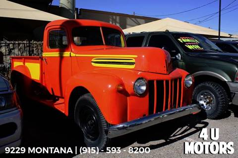 1946 Ford F-150 for sale in El Paso, TX