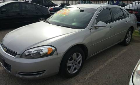 2007 Chevrolet Impala for sale at 4 U MOTORS in El Paso TX