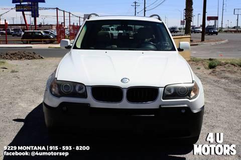 2005 BMW X3 for sale in El Paso, TX